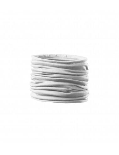 Adler MALFINI Scarf Unisex/Kids Twister 328 biały