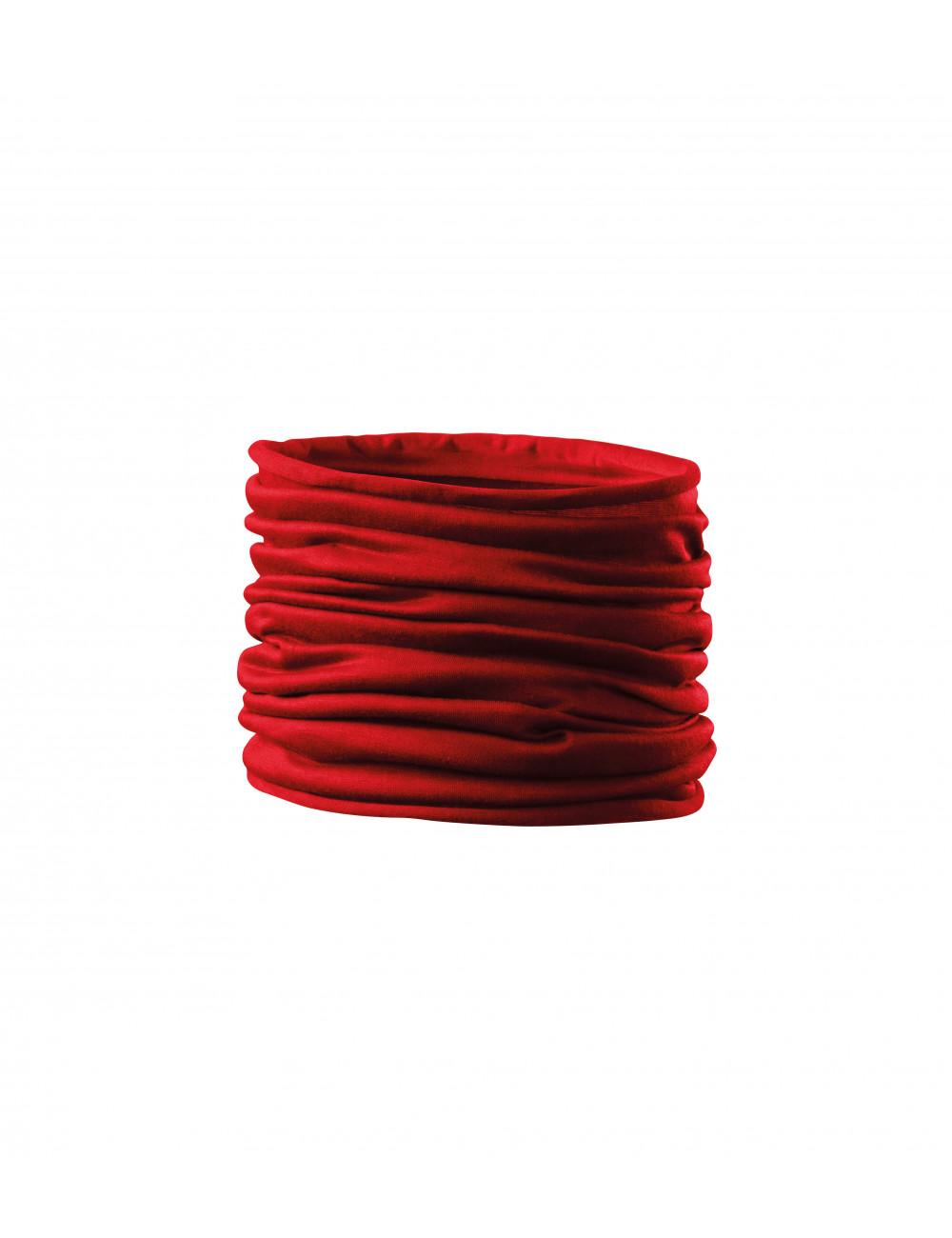 Adler MALFINI Scarf Unisex/Kids Twister 328 czerwony