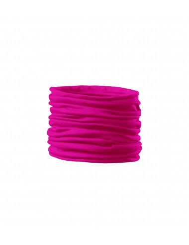 2Adler MALFINI Scarf Unisex/Kids Twister 328 neon różowy