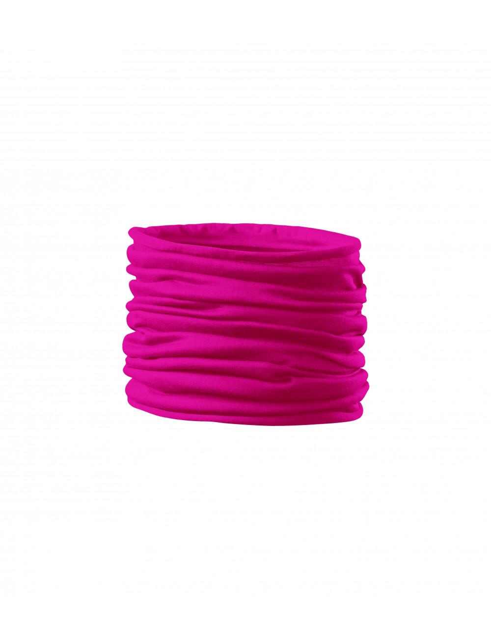 Adler MALFINI Scarf Unisex/Kids Twister 328 neon różowy