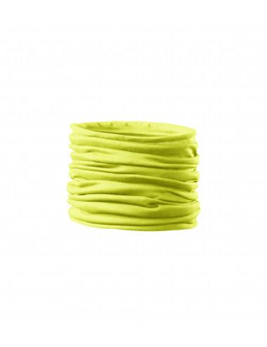 2Adler MALFINI Scarf Unisex/Kids Twister 328 neon yellow