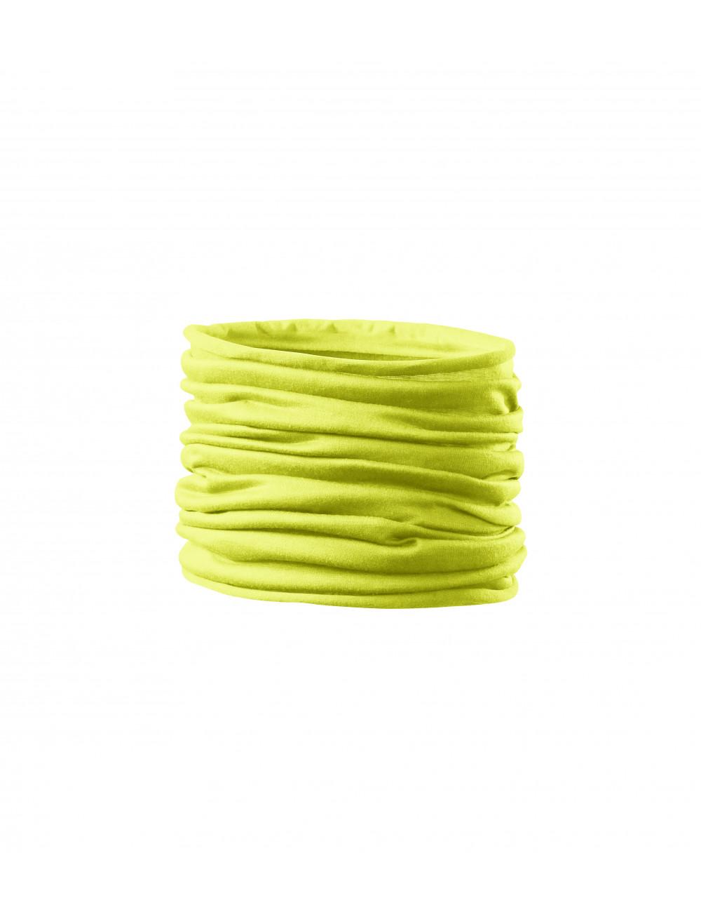 Adler MALFINI Scarf Unisex/Kids Twister 328 neon yellow