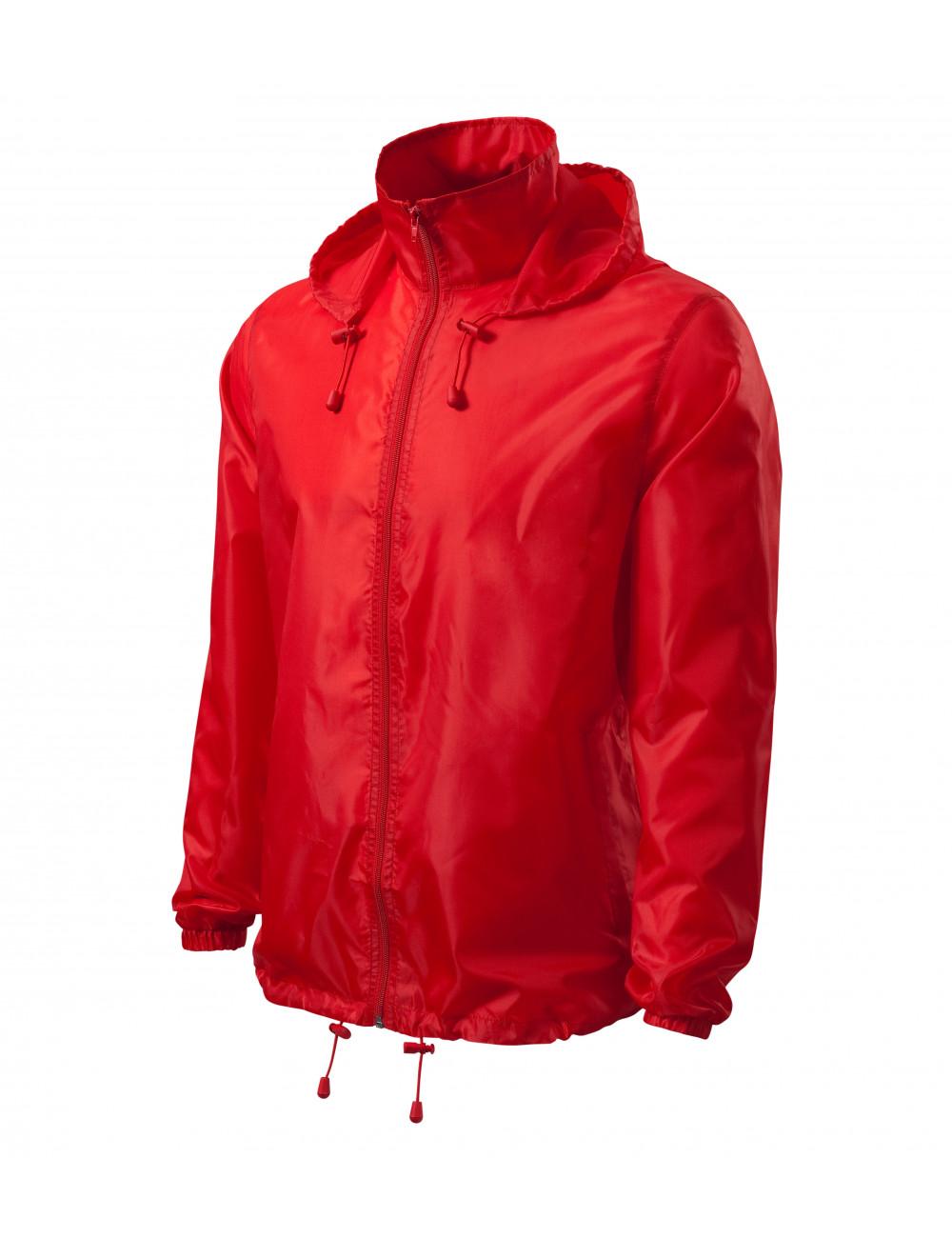 Adler MALFINI Wiatrówka unisex Windy 524 czerwony