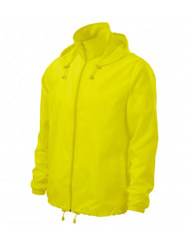 2Adler MALFINI Wiatrówka unisex Windy 524 neon yellow