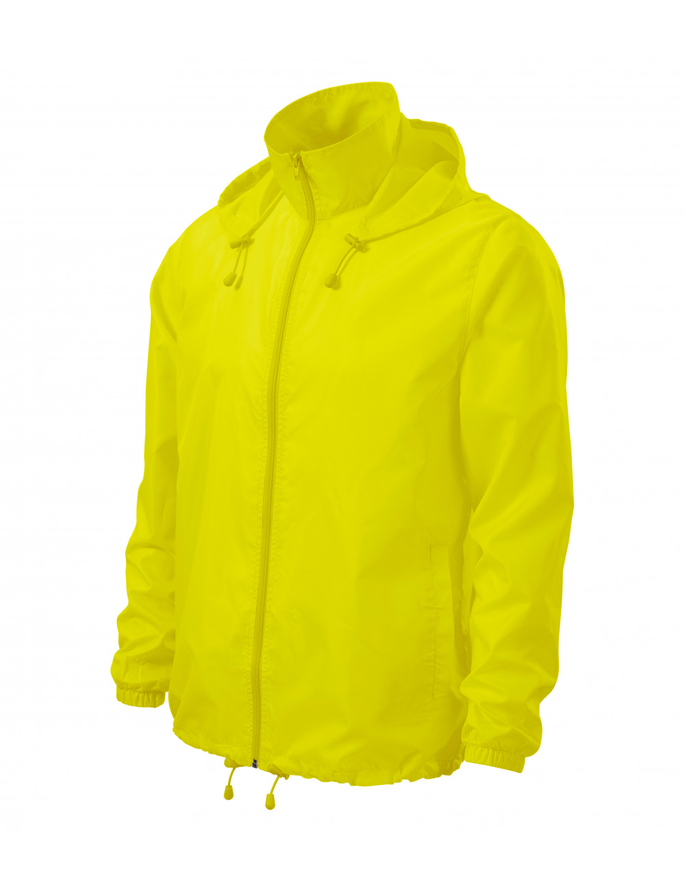 Adler MALFINI Wiatrówka unisex Windy 524 neon yellow
