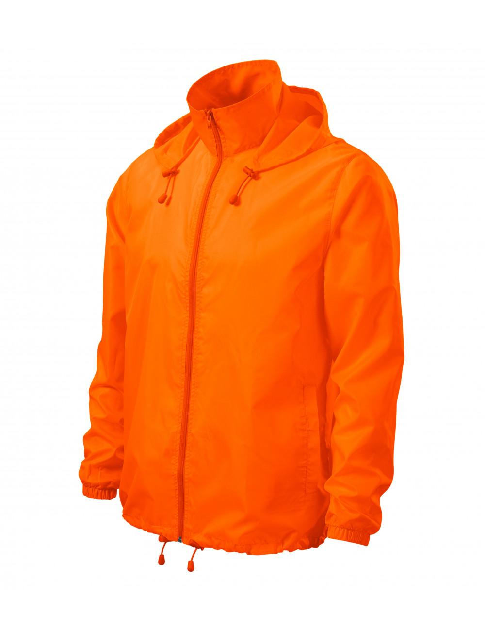 Adler MALFINI Wiatrówka unisex Windy 524 neon orange