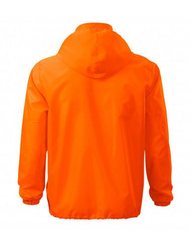 2Adler MALFINI Wiatrówka unisex Windy 524 neon orange
