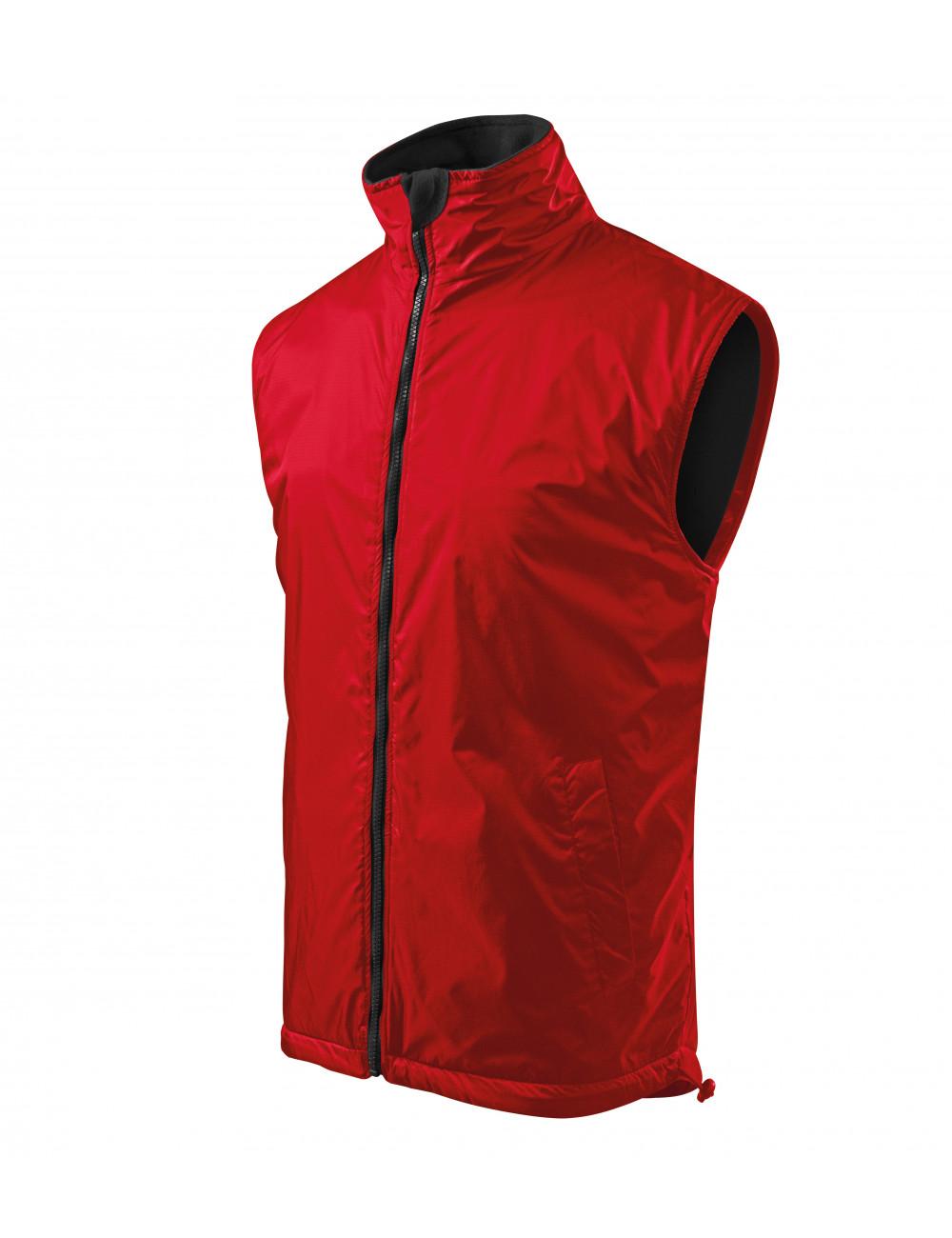 Adler MALFINI Kamizelka męska Body Warmer 509 czerwony