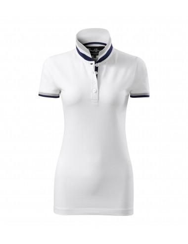 2Adler MALFINIPREMIUM Koszulka polo damska Collar Up 257 biały