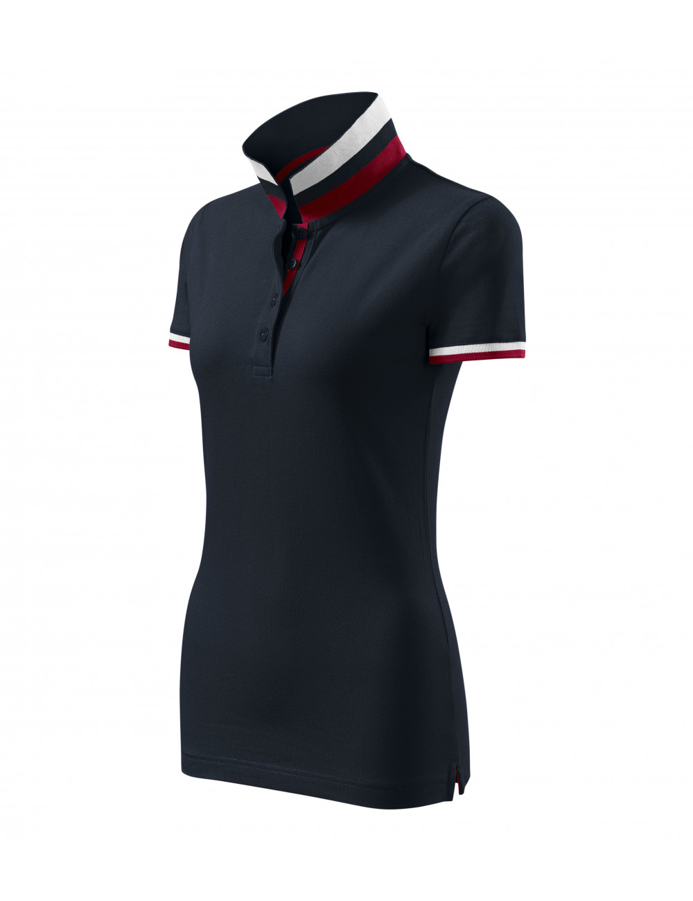 Adler MALFINIPREMIUM Koszulka polo damska Collar Up 257 dark navy