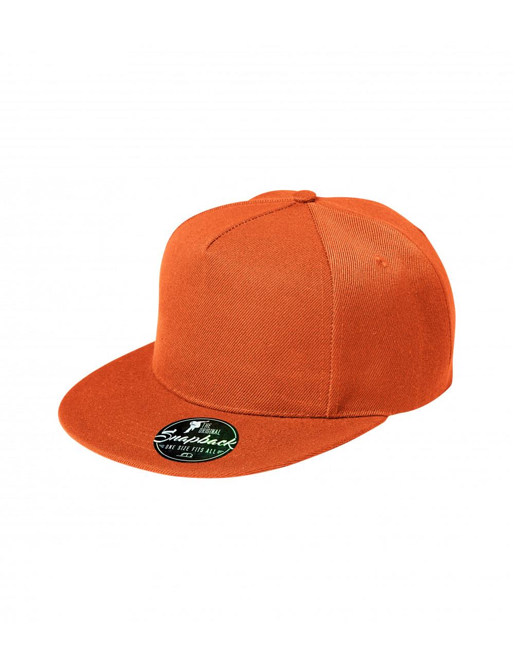 Adler MALFINI Czapka unisex Rap 5P 301 pomarańczowy