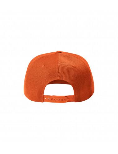 2Adler MALFINI Czapka unisex Rap 5P 301 pomarańczowy