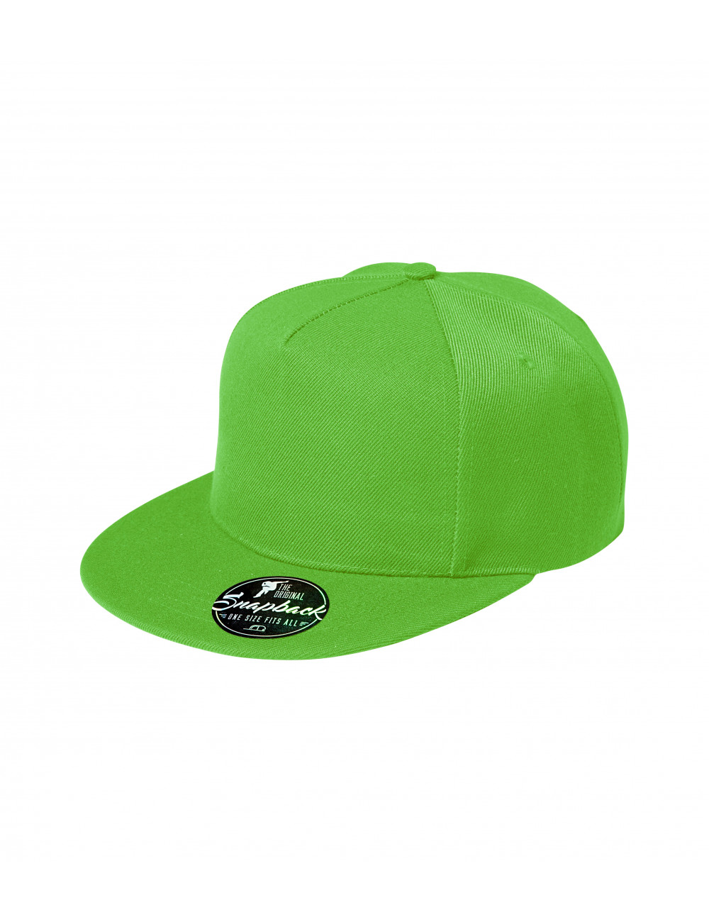 Adler MALFINI Czapka unisex Rap 5P 301 green apple