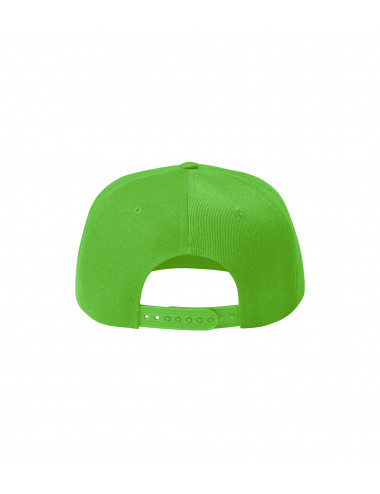 2Adler MALFINI Czapka unisex Rap 5P 301 green apple
