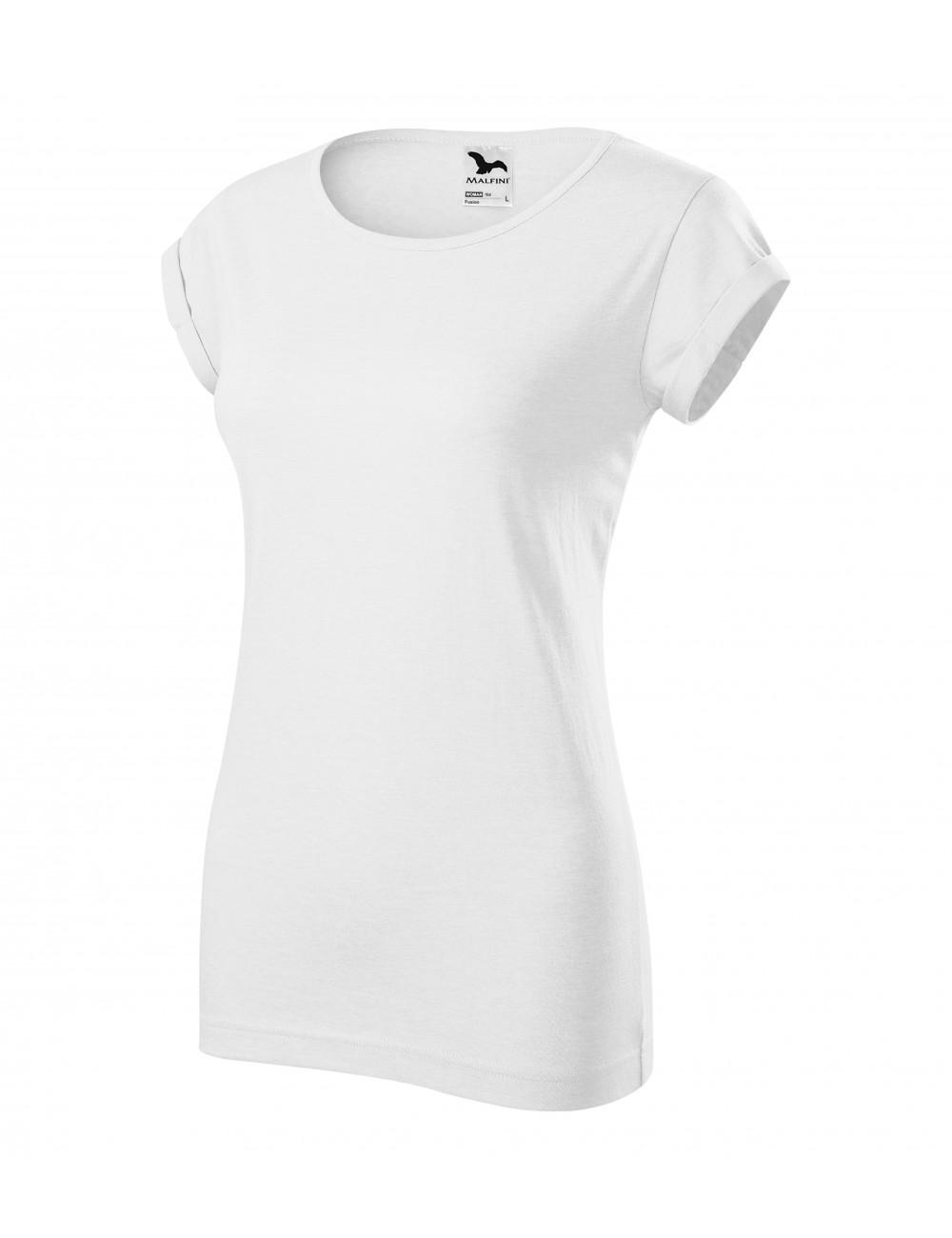 Adler MALFINI Koszulka damska Fusion 164 biały
