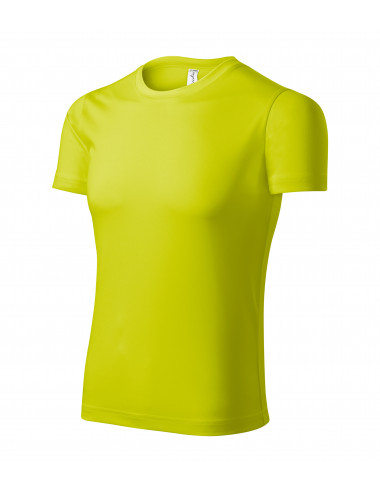 2Adler PICCOLIO Koszulka unisex Pixel P81 neon yellow