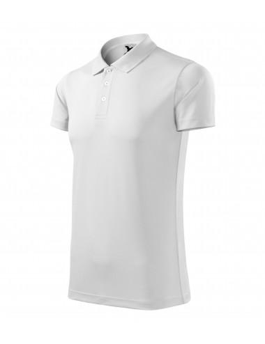 Adler MALFINI Koszulka polo unisex Victory 217 biały