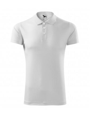 2Adler MALFINI Koszulka polo unisex Victory 217 biały