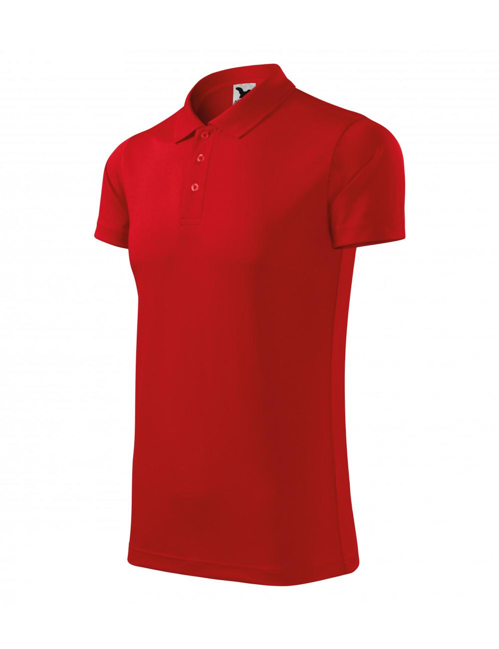 Adler MALFINI Koszulka polo unisex Victory 217 czerwony
