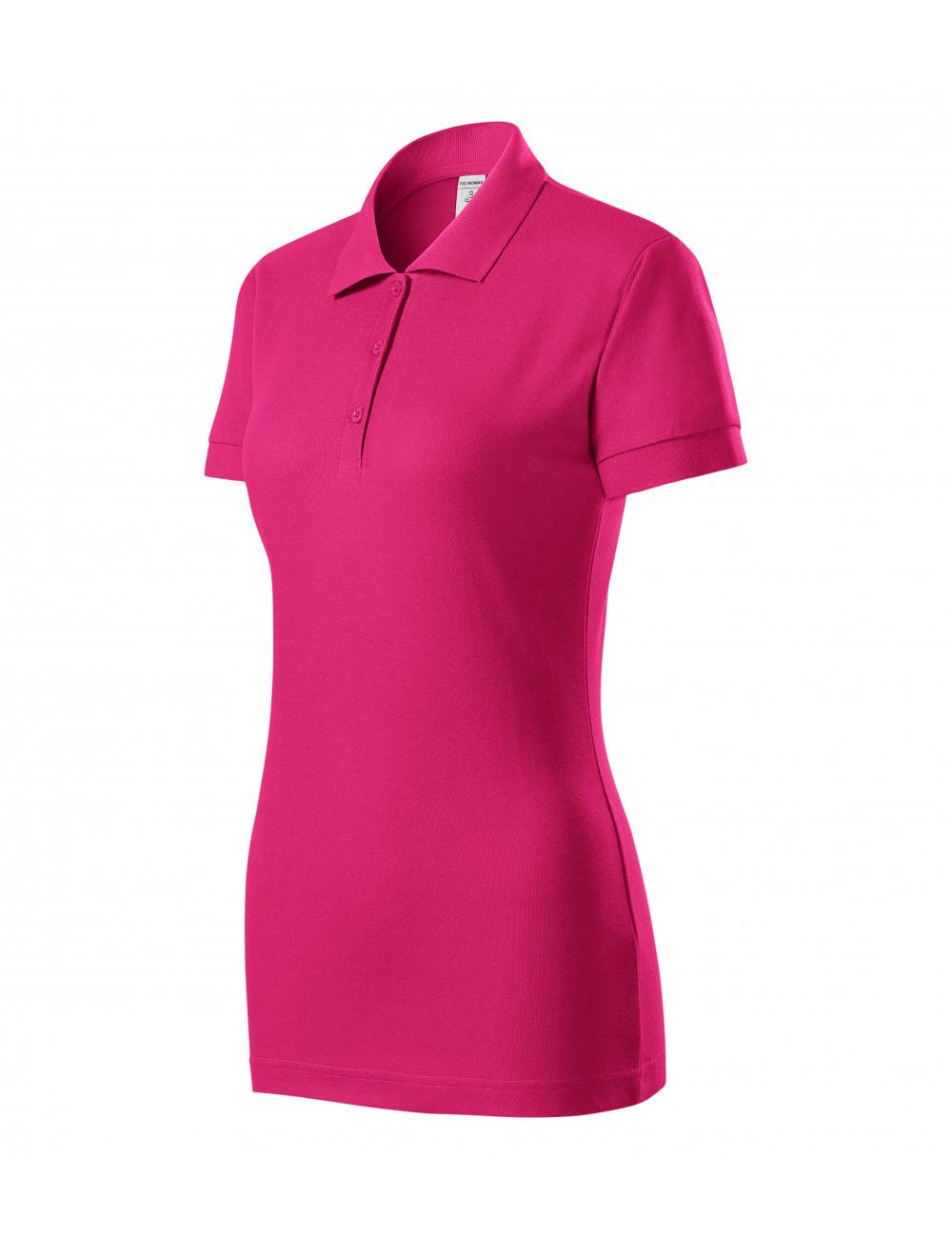 Adler PICCOLIO Koszulka polo damska Joy P22 czerwień purpurowa