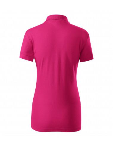 2Adler PICCOLIO Koszulka polo damska Joy P22 czerwień purpurowa