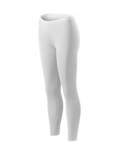 Adler MALFINI Legginsy damskie Balance 610 biały