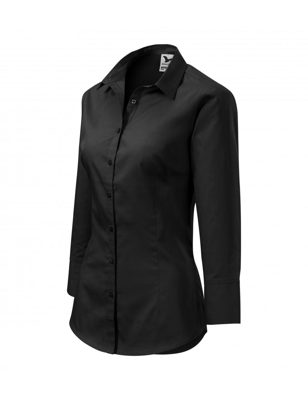 Adler MALFINI Koszula damska Style 218 czarny