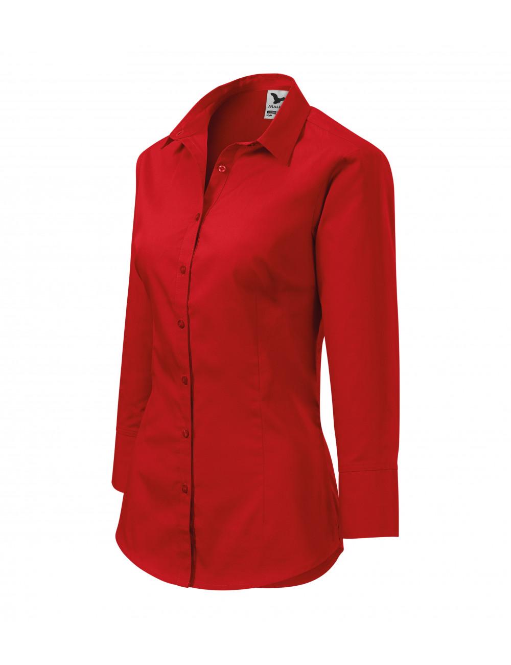 Adler MALFINI Koszula damska Style 218 czerwony