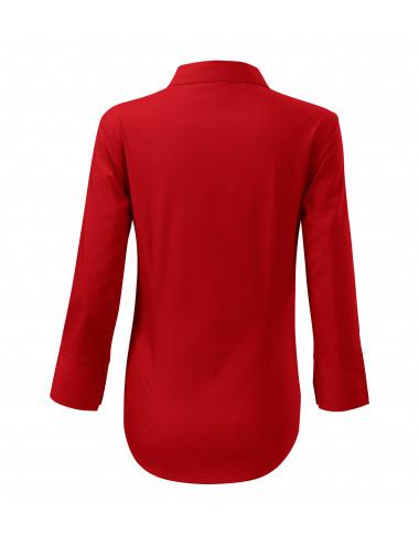 2Adler MALFINI Koszula damska Style 218 czerwony