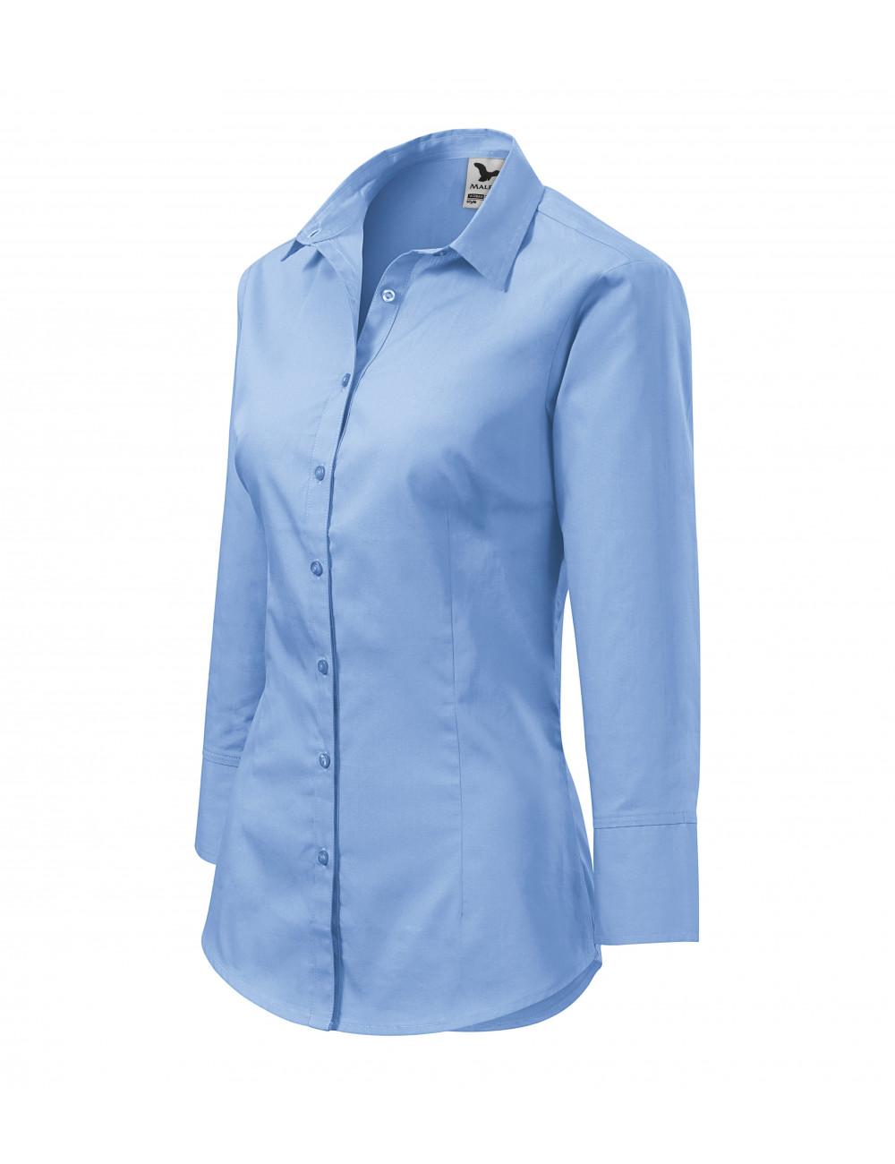 Adler MALFINI Koszula damska Style 218 błękitny