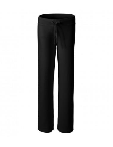 2Adler MALFINI Spodnie dresowe damskie Comfort 608 czarny