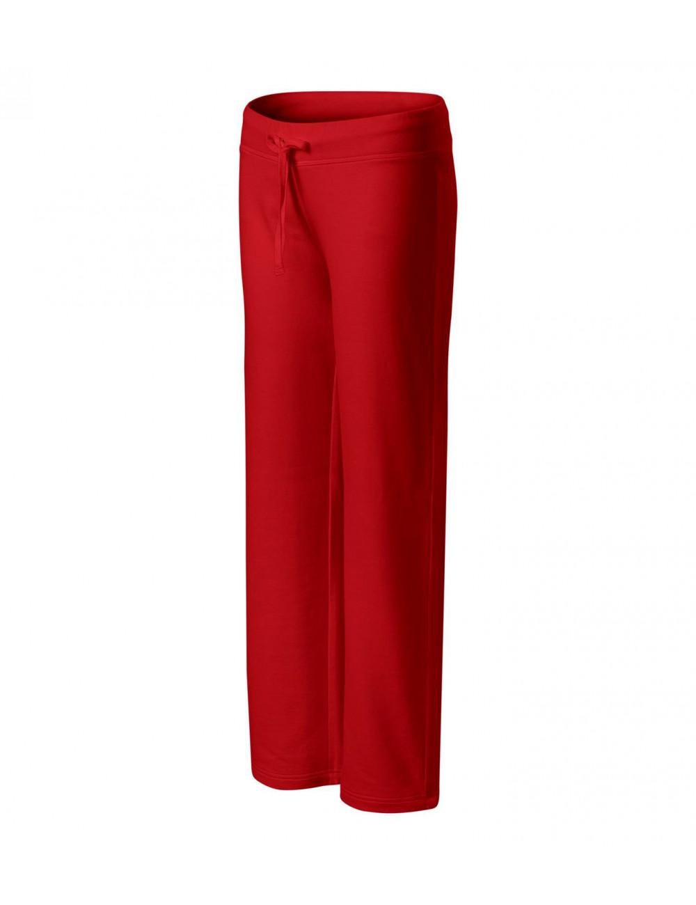 Adler MALFINI Spodnie dresowe damskie Comfort 608 czerwony