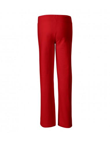 2Adler MALFINI Spodnie dresowe damskie Comfort 608 czerwony