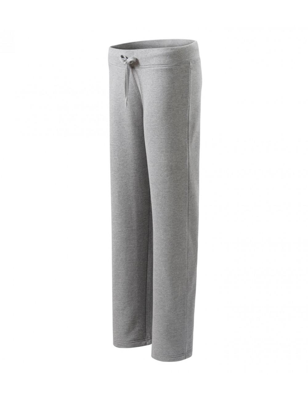 Adler MALFINI Spodnie dresowe damskie Comfort 608 ciemnoszary melanż