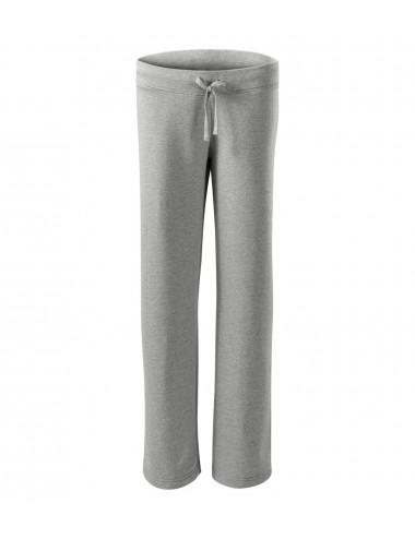 2Adler MALFINI Spodnie dresowe damskie Comfort 608 ciemnoszary melanż