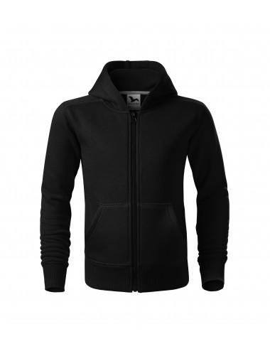 2Adler MALFINI Bluza dziecięca Trendy Zipper 412 czarny