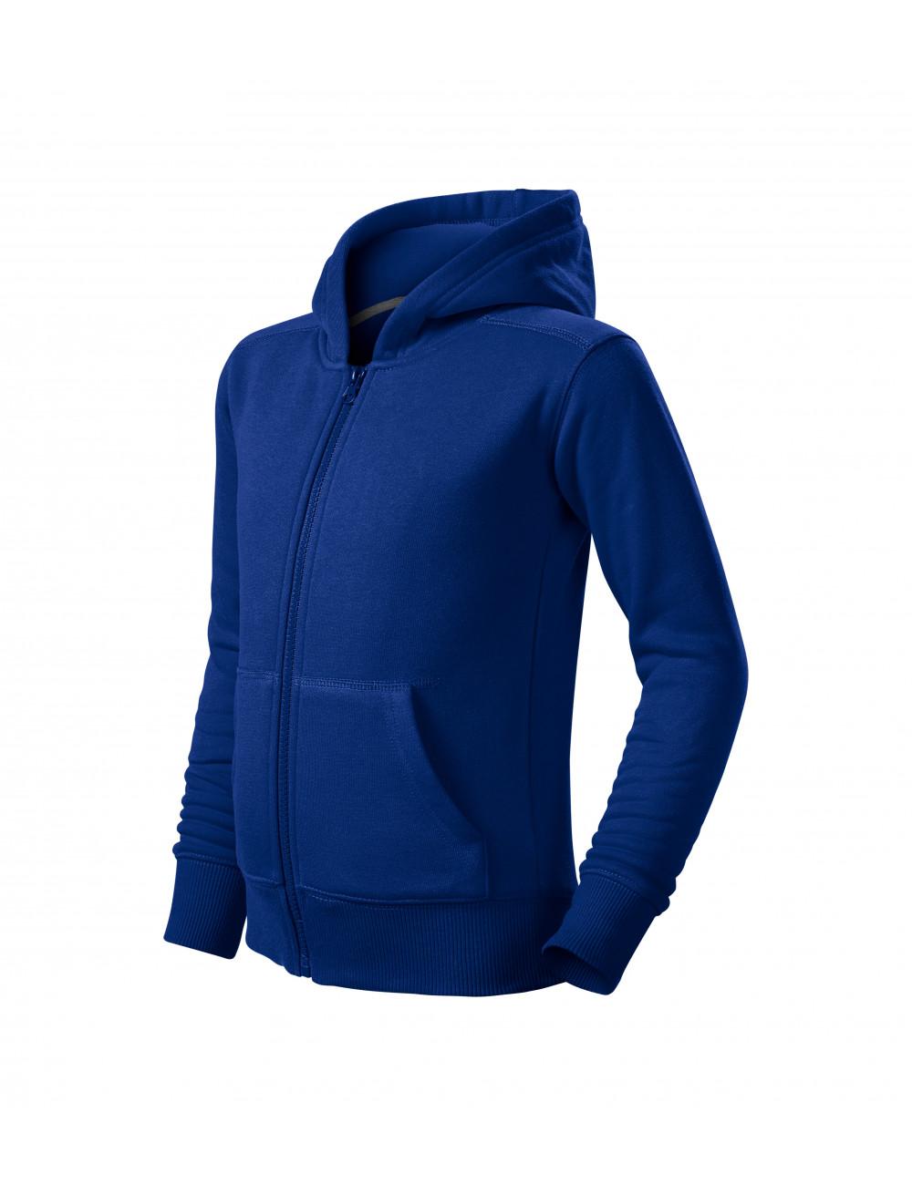 Adler MALFINI Bluza dziecięca Trendy Zipper 412 chabrowy