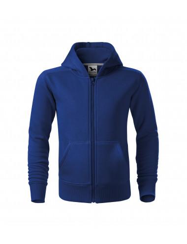 2Adler MALFINI Bluza dziecięca Trendy Zipper 412 chabrowy