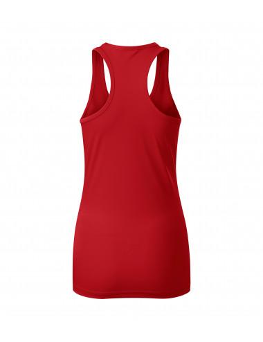 2Adler MALFINI Top damski Racer 167 czerwony