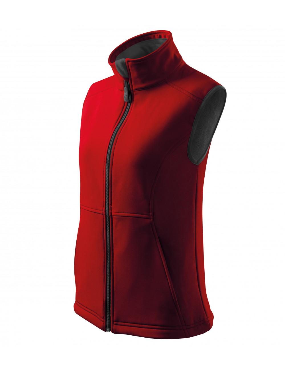 Adler MALFINI Softshell kamizelka damska Vision 516 czerwony