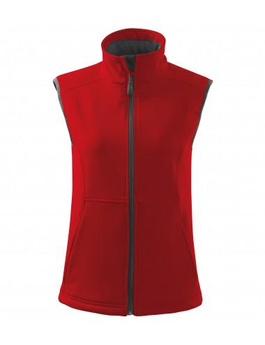 2Adler MALFINI Softshell kamizelka damska Vision 516 czerwony