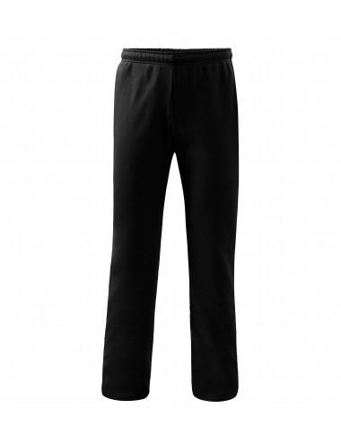 2Adler MALFINI Spodnie dresowe męskie/dziecięce Comfort 607 czarny