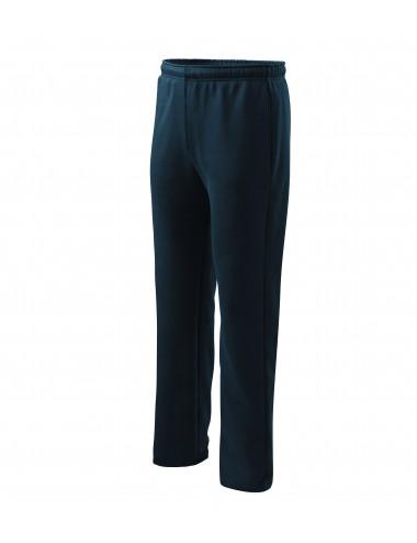 2Adler MALFINI Spodnie dresowe męskie/dziecięce Comfort 607 granatowy