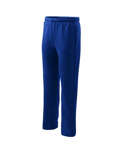 2Adler MALFINI Spodnie dresowe męskie/dziecięce Comfort 607 chabrowy