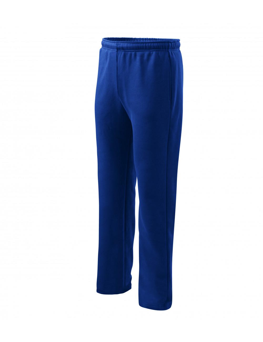 Adler MALFINI Spodnie dresowe męskie/dziecięce Comfort 607 chabrowy