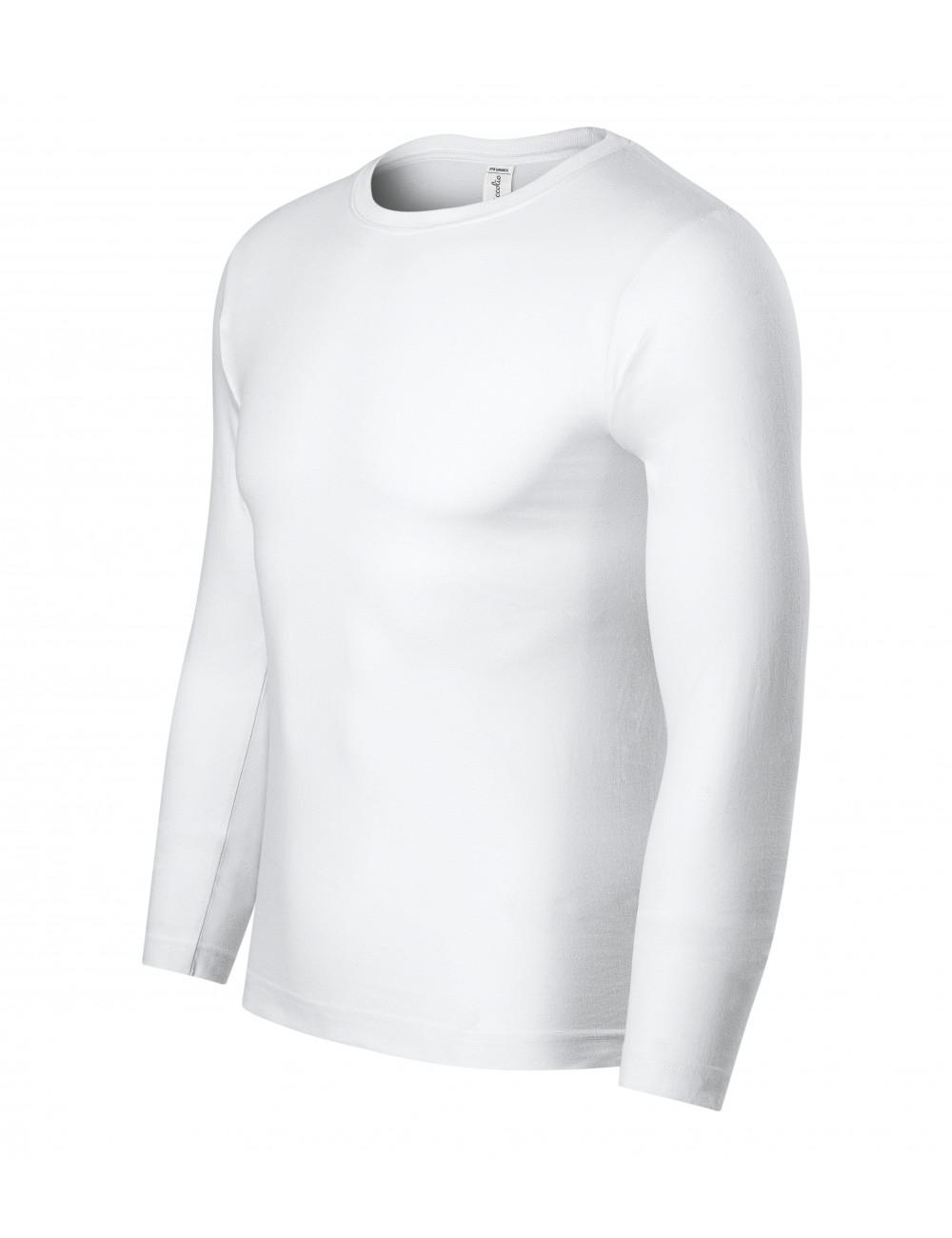 Adler PICCOLIO Koszulka unisex Progress LS P75 biały