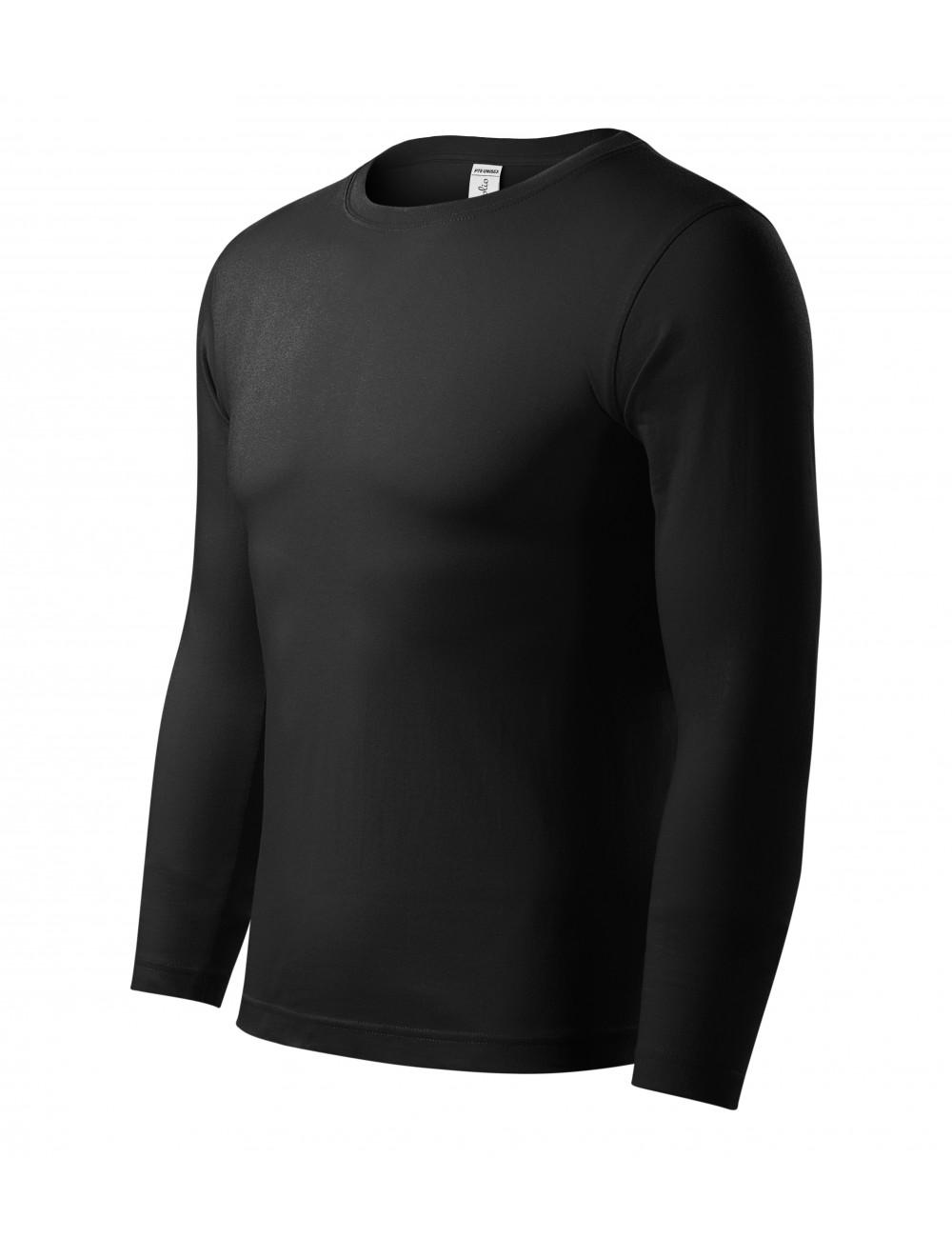 Adler PICCOLIO Koszulka unisex Progress LS P75 czarny