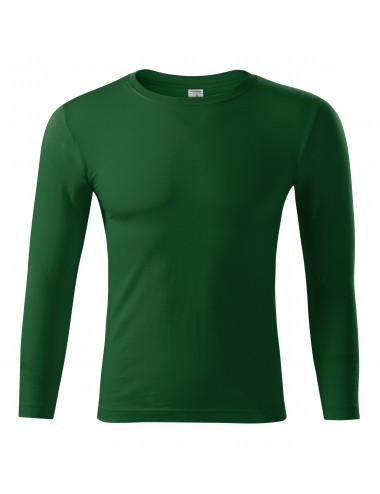 2Adler PICCOLIO Koszulka unisex Progress LS P75 zieleń butelkowa