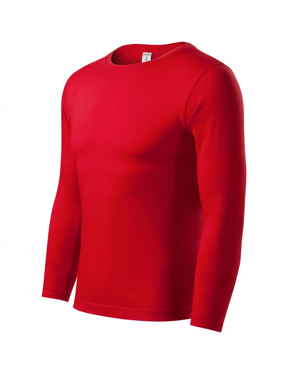 Adler PICCOLIO Koszulka unisex Progress LS P75 czerwony