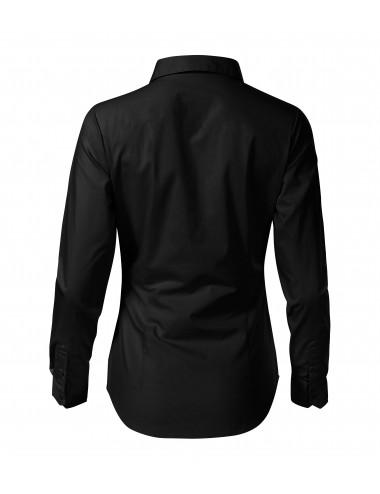 2Adler MALFINI Koszula damska Style LS 229 czarny